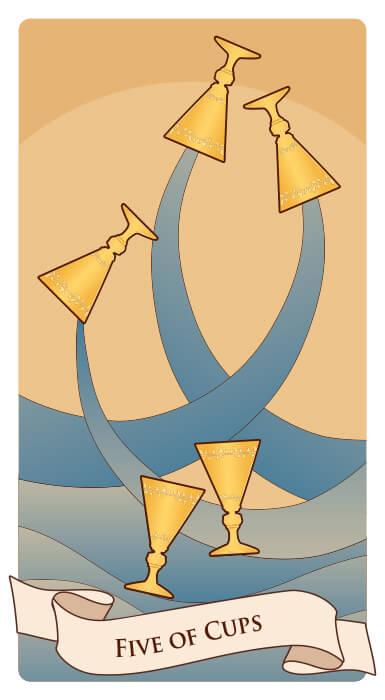 Cartas de tarot tres cartas