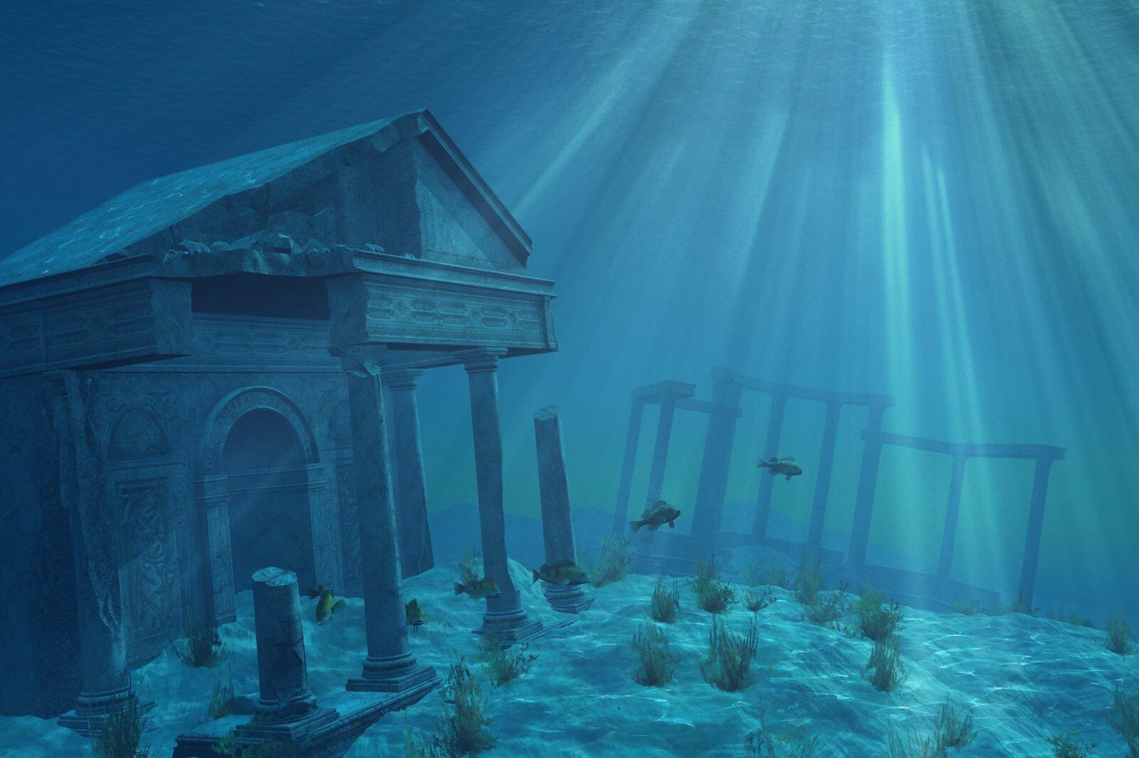 la leyenda de la atlantida