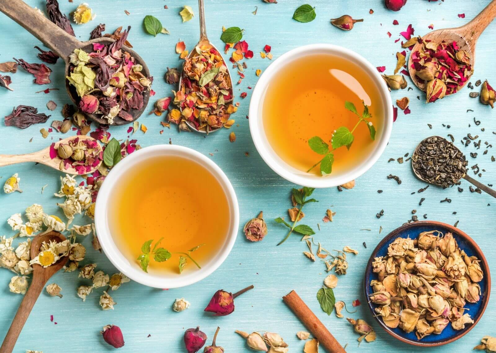 hoja del té