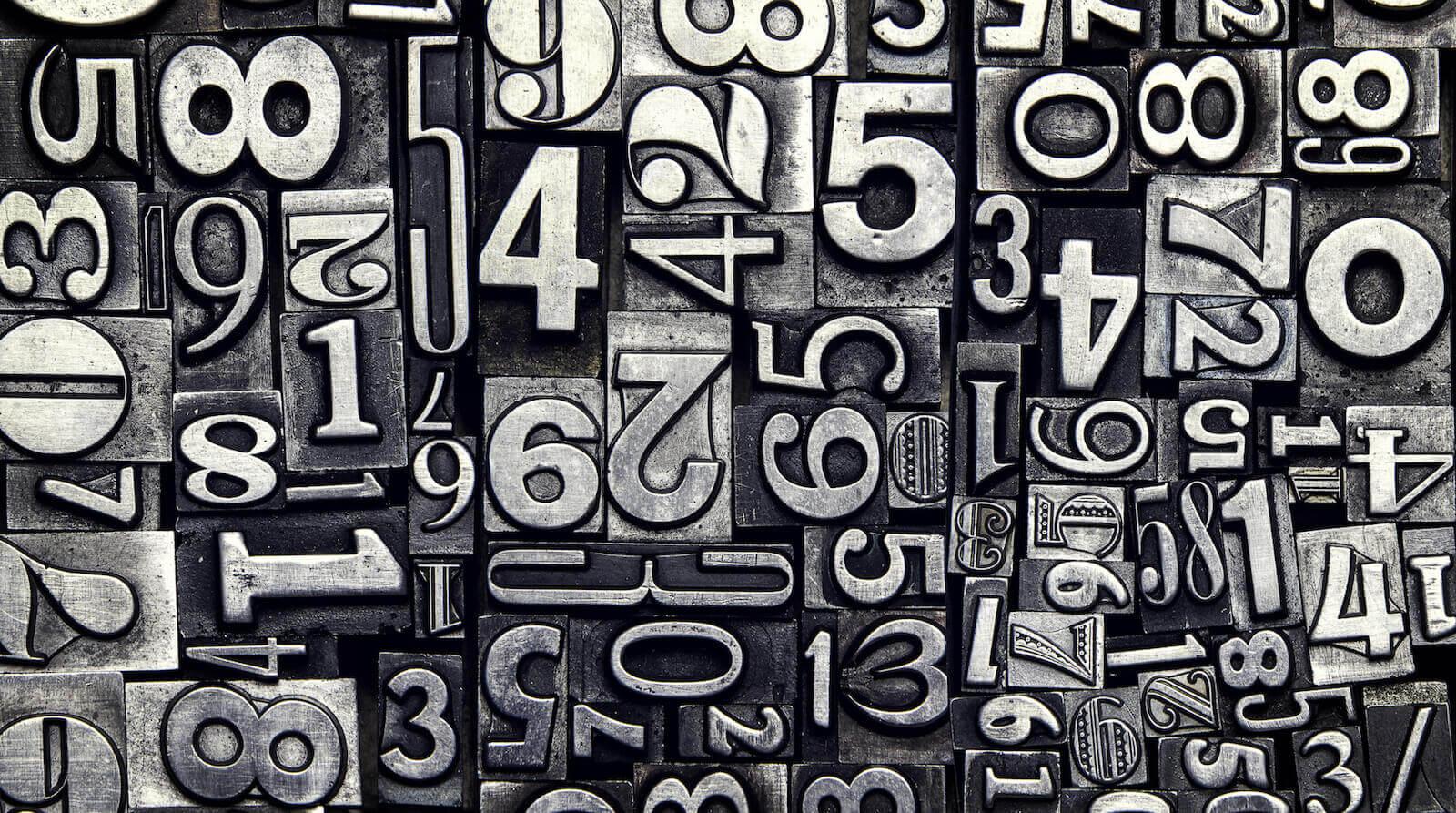 civilizaciones números