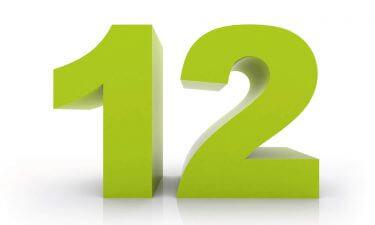 Curiosidades del Número 12
