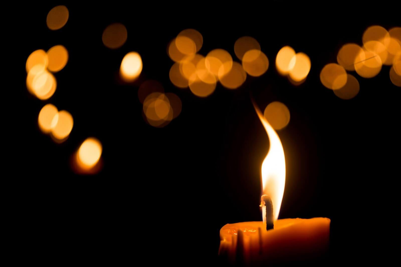 La llama de la vela. Efectos