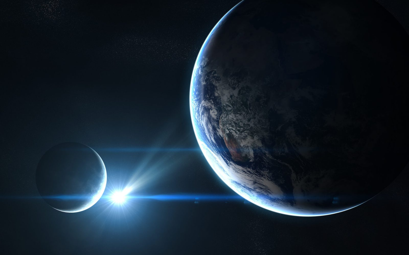 rayos láser asteroides