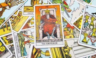 El Emperador Echar las cartas del tarot