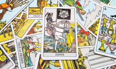 La Muerte Echar las cartas del tarot