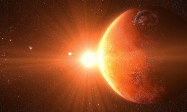Marte en signos de aire y agua