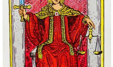 El Juicio. Echar las cartas del tarot