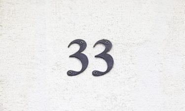 Numerología y el número 33