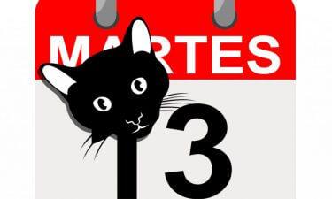 Supersticionesmás famosas del Martes y Trece