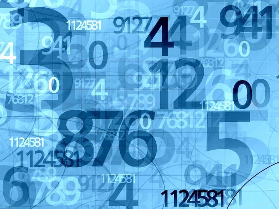 Símbolos geométricos de los números