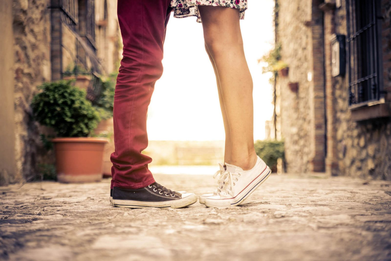 enamorados a primera vista