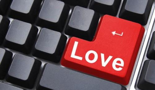 el amor en internet