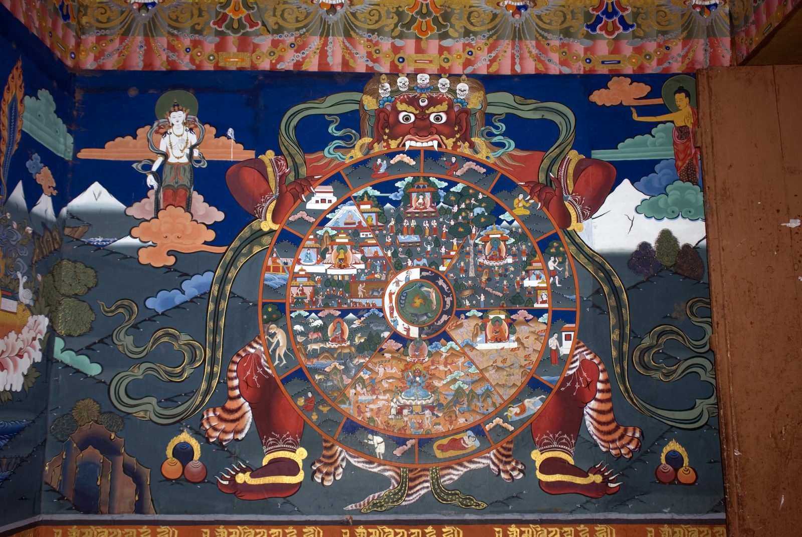 samsara y monjes budistas