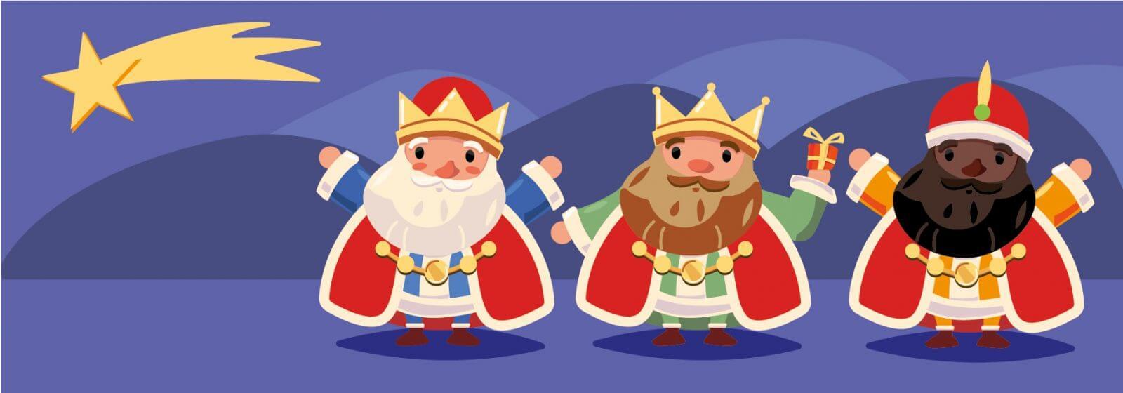 tres reyes magos 6 de enero