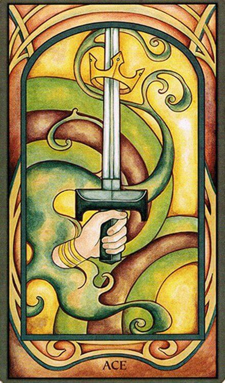 Arcanos Menores - As de Espadas