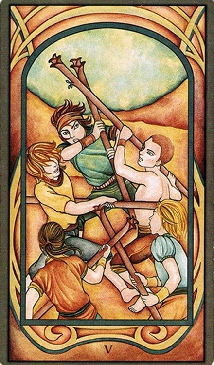 Los Arcanos Menores y el Tarot