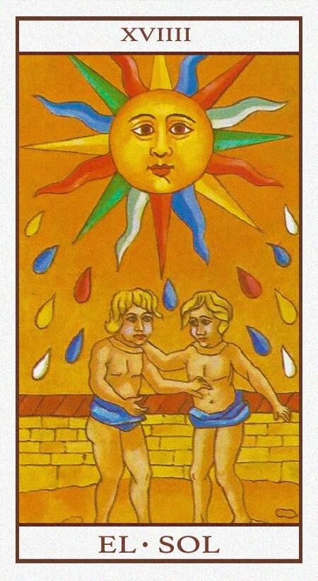 Arcanos Mayores - El Sol