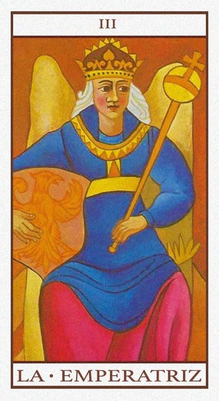 Arcanos Mayores - La Emperatriz