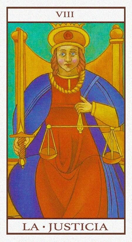 Arcanos Mayores - La Justicia