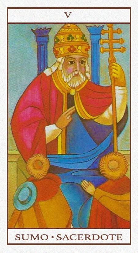 Arcanos Mayores - El Sacerdote