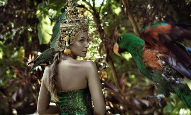 Reina de Bastos en Tarot