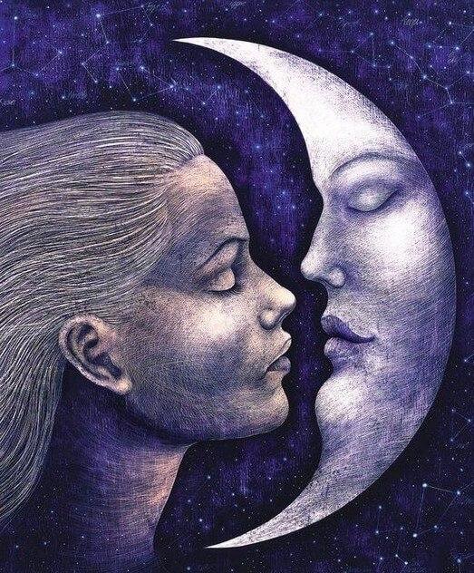 predicción semanal de la luna