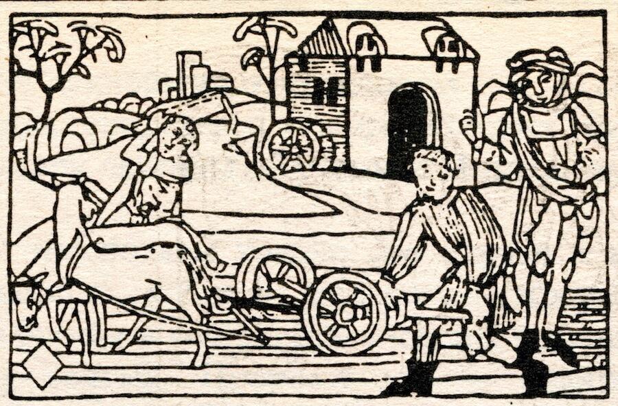 grabados del tarot de mantegna
