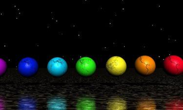 Los siete chakras planetarios