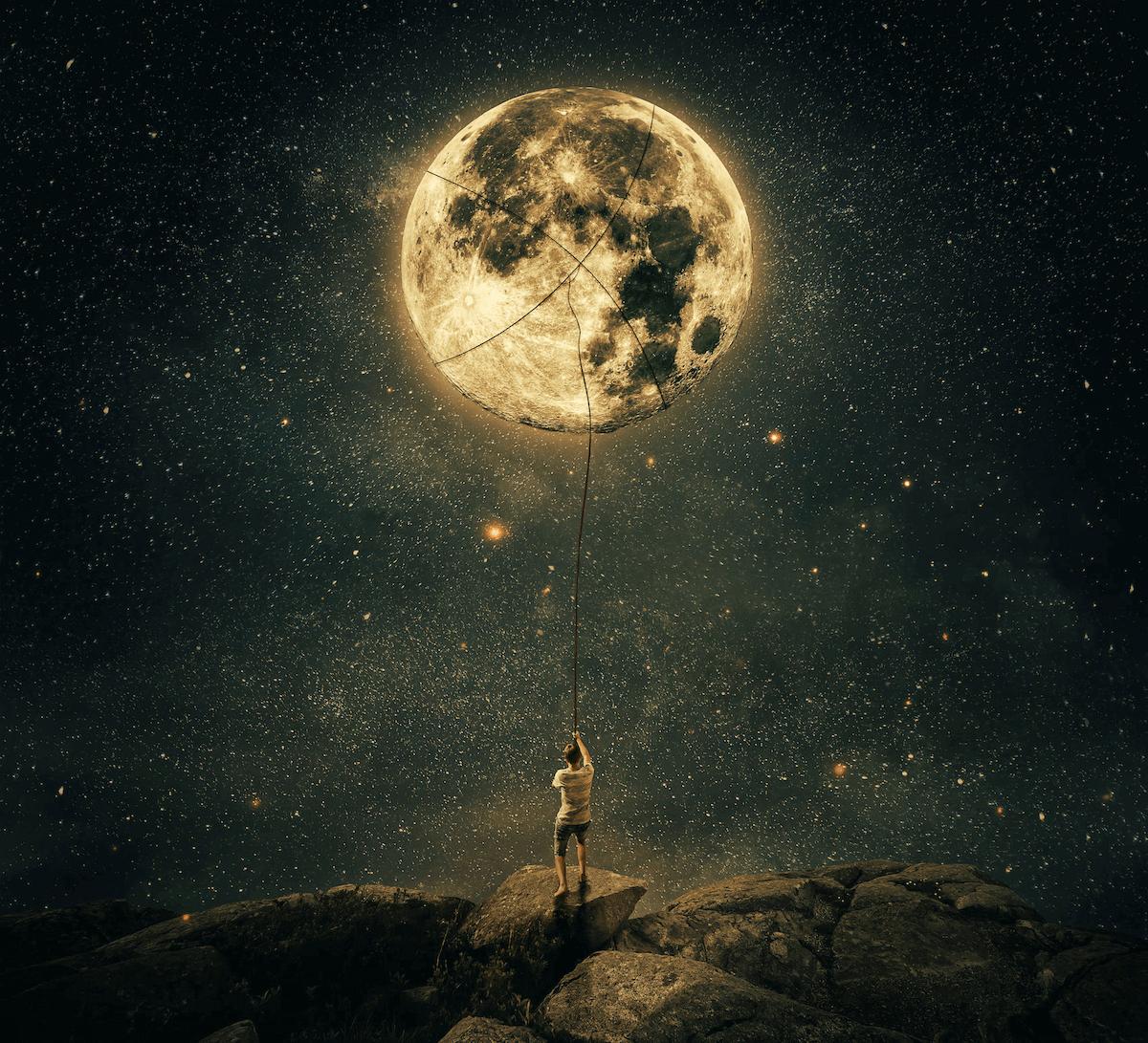 La Luna y la alimentación emocional de cada signo