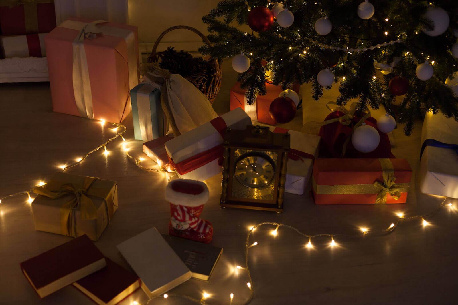 árbol de navidad familiar