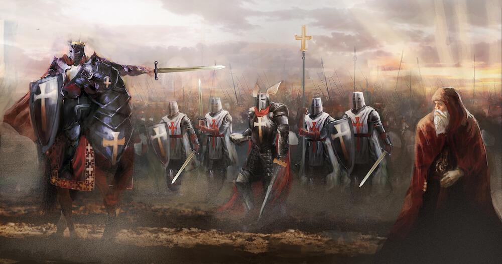 caballeros Templarios tarot