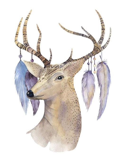 horoscopo indio americano ciervo