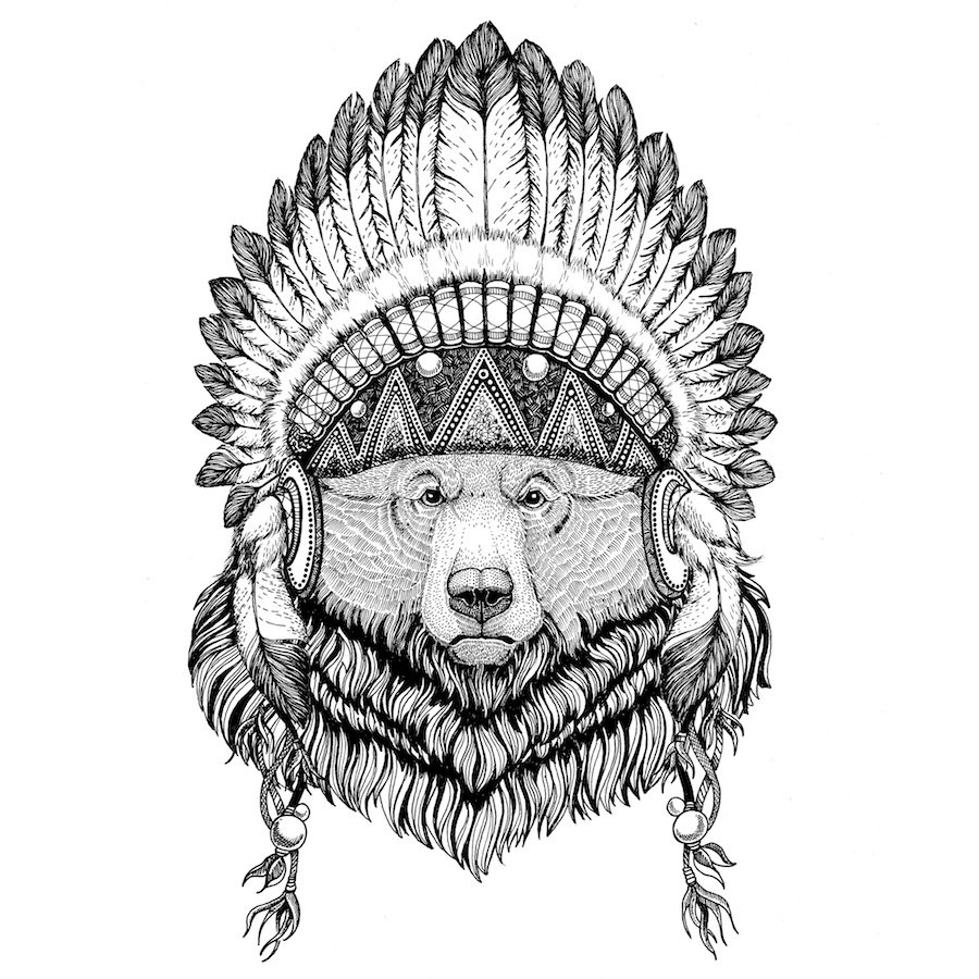 horoscopo indio americano oso