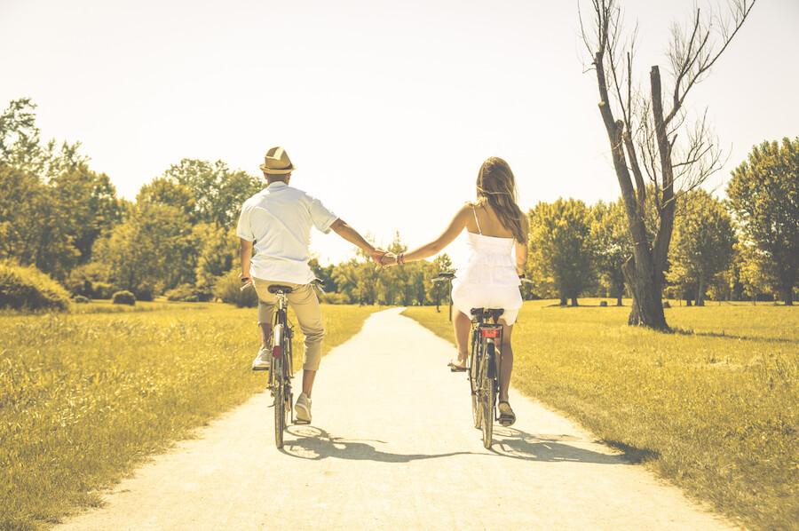 felicidad y amor en pareja