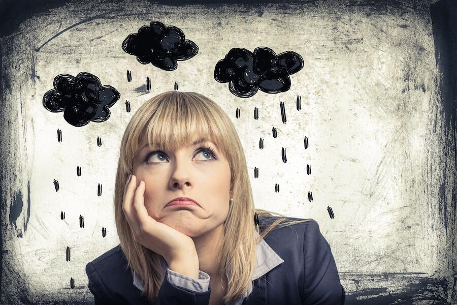Síntomas de la depresión femenina