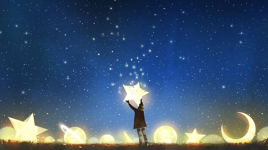 cielo de cometas