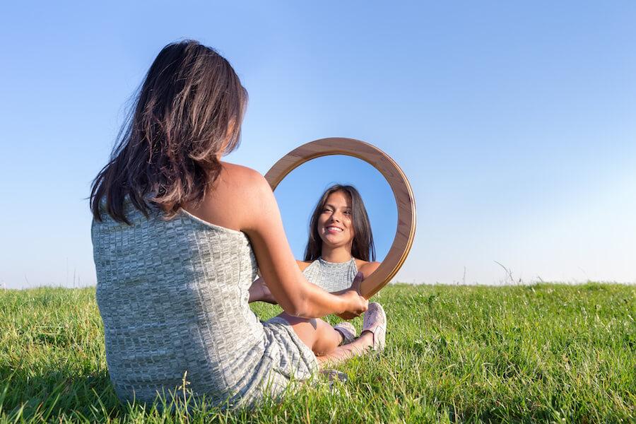 espejo de la vida