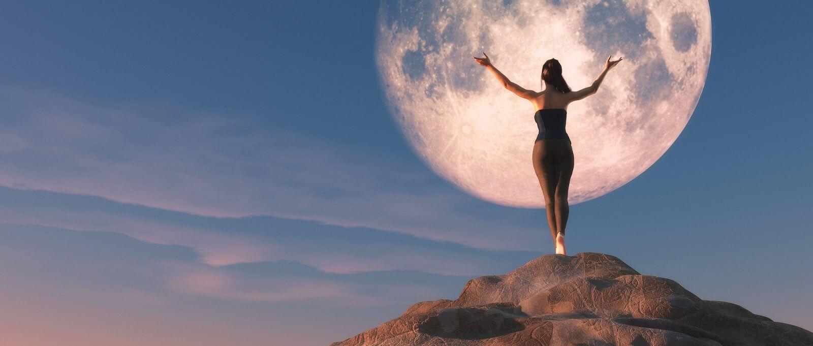 ciclo lunar y puntos lunares