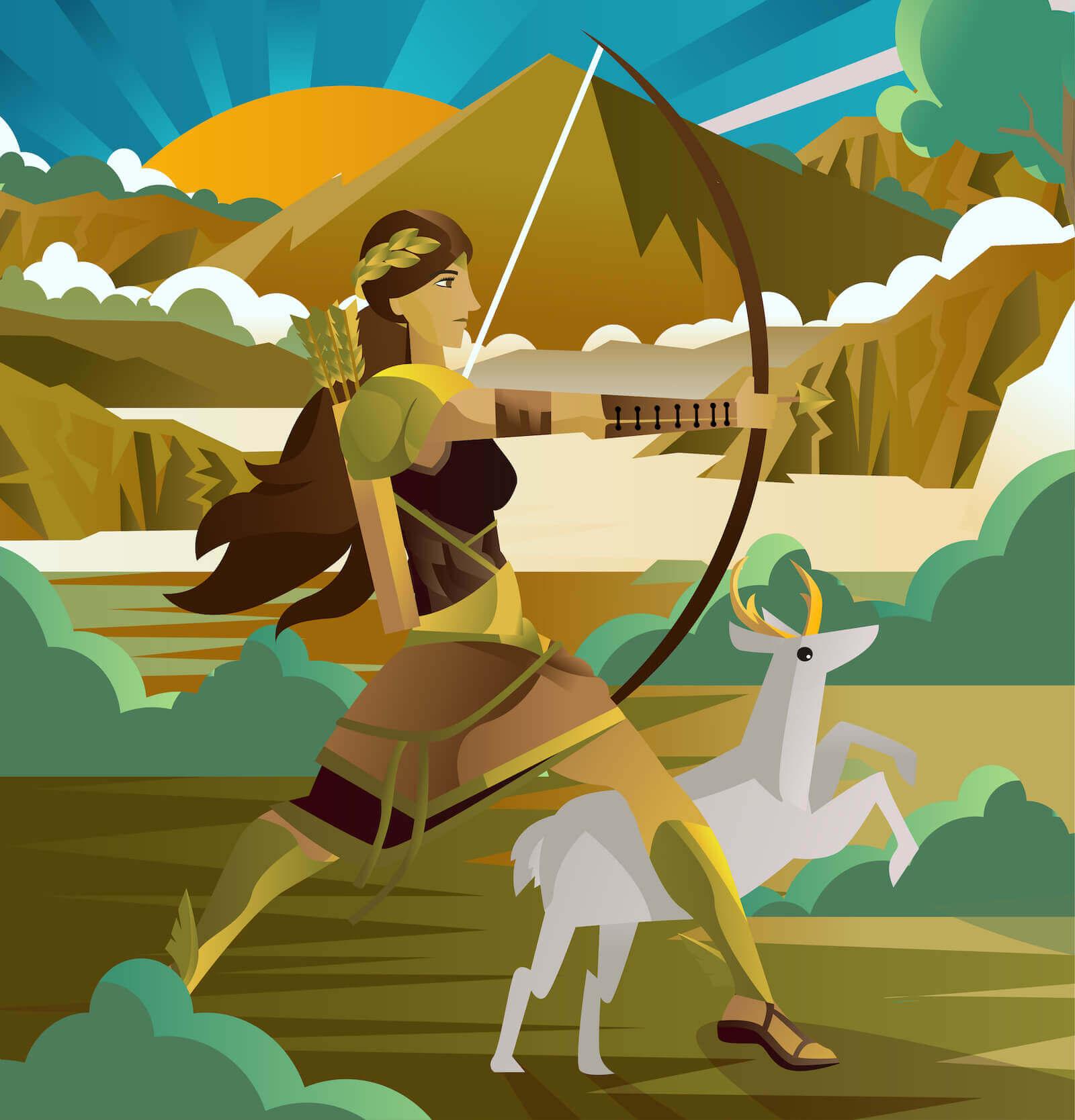 diosas del olimpo