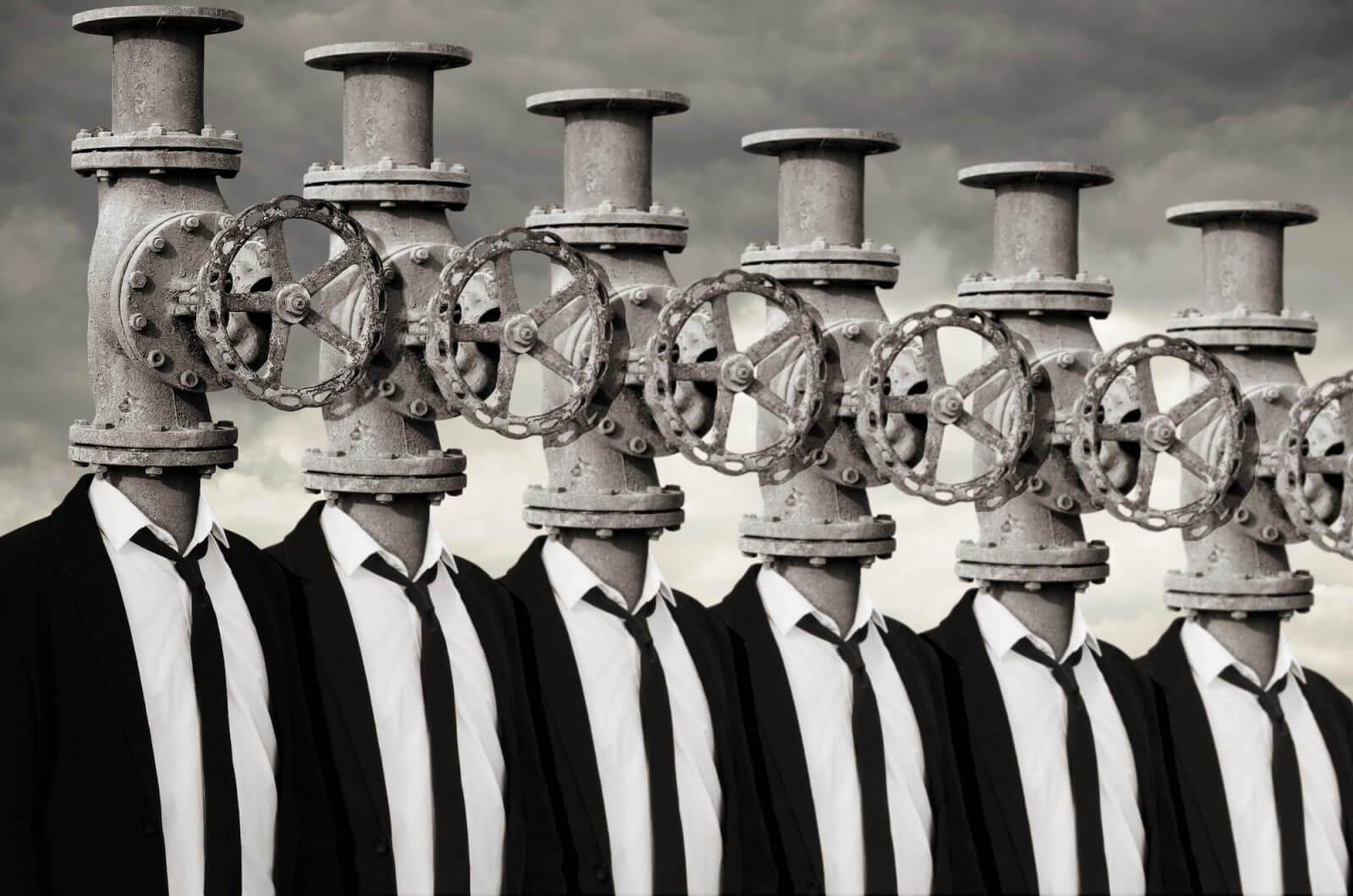 surrealistas e intelectuales