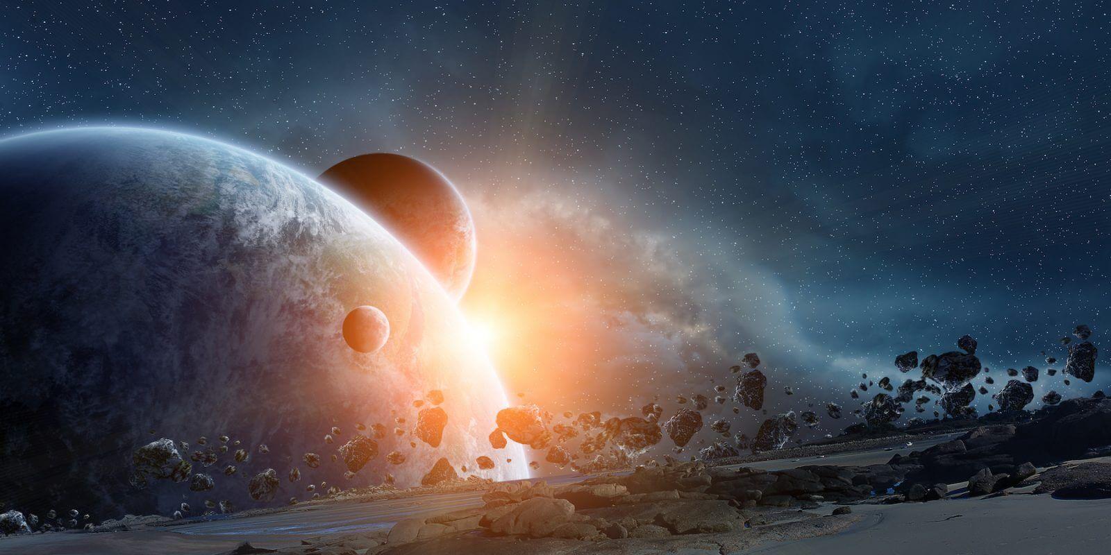 colisión del planeta Nibiru