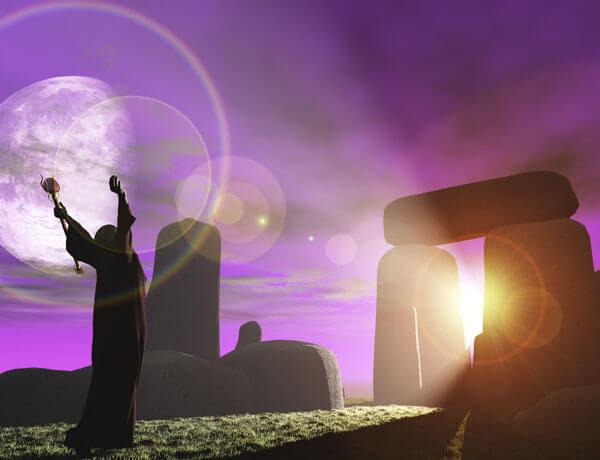 rituales de los druidas