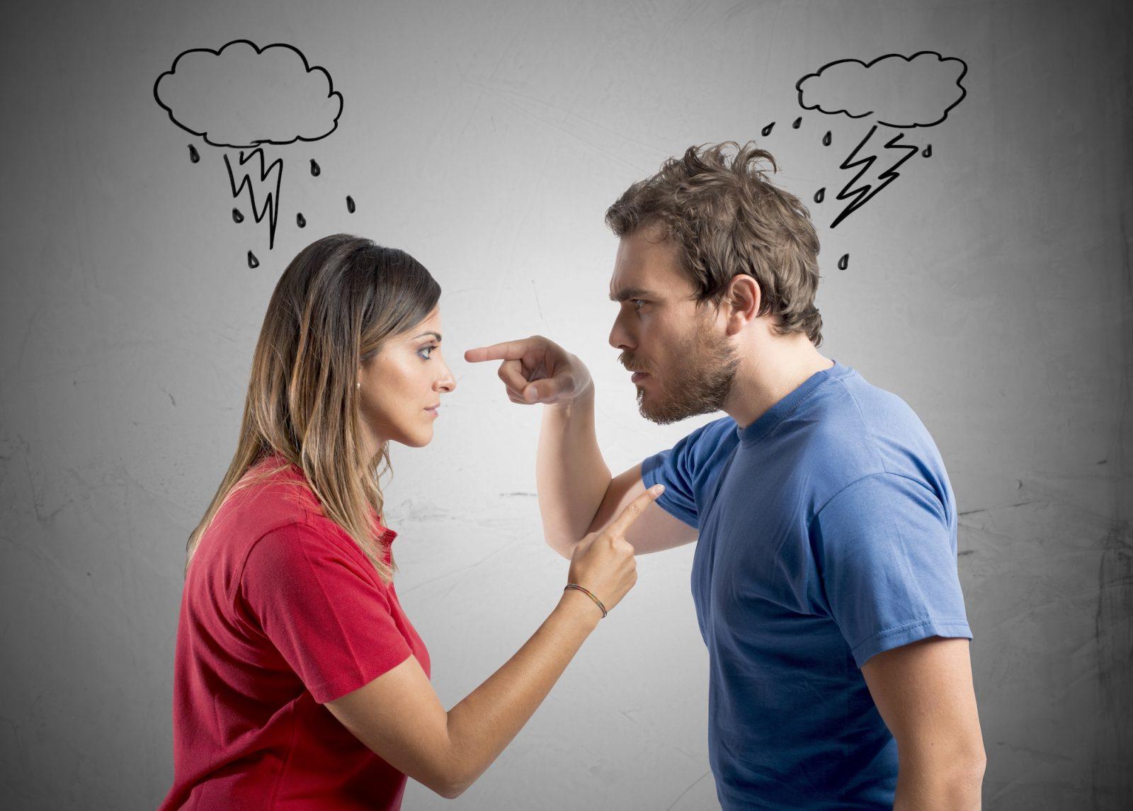 expresar ira con los demás