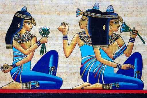 flor de loto en el antiguo egipto