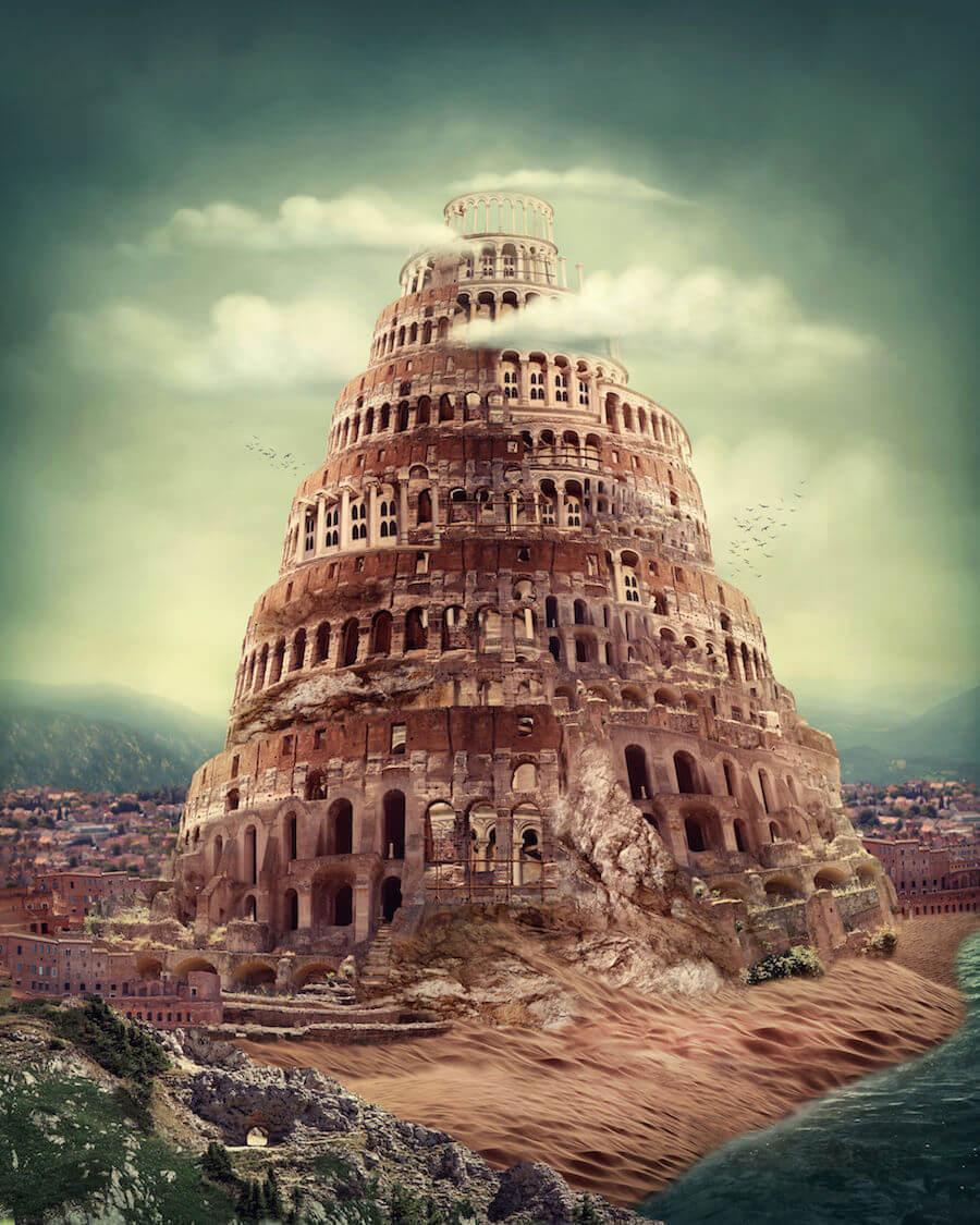 ранее вавилонская башня фото в наше время актера