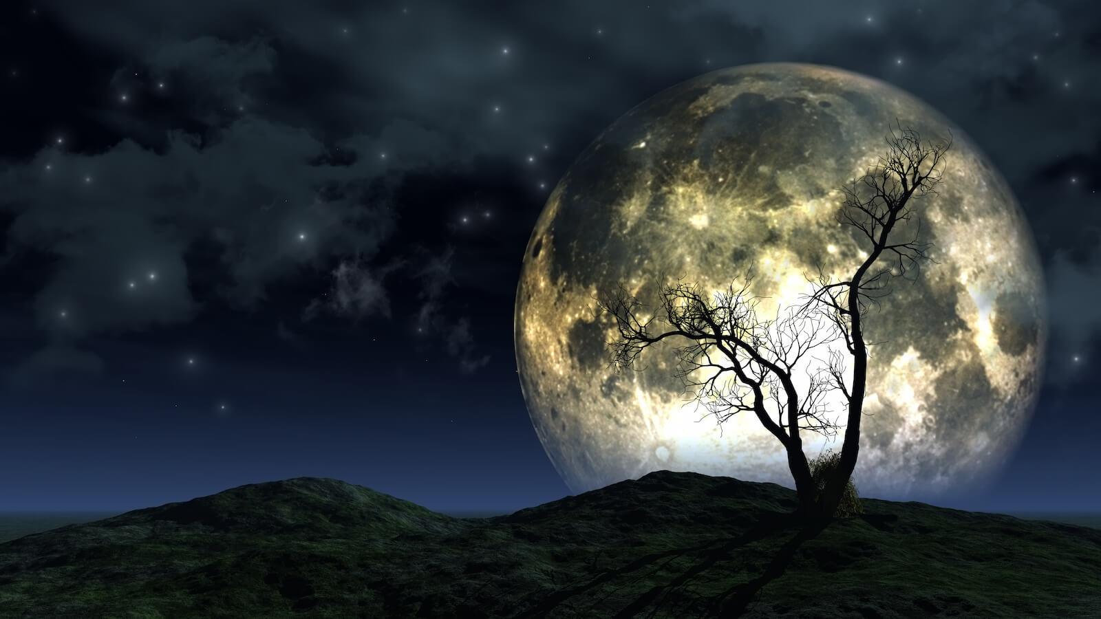 el beso de la luna y el sol