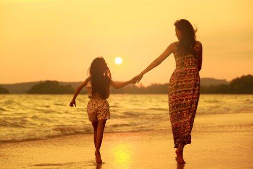 cáncer con piscis madre e hija
