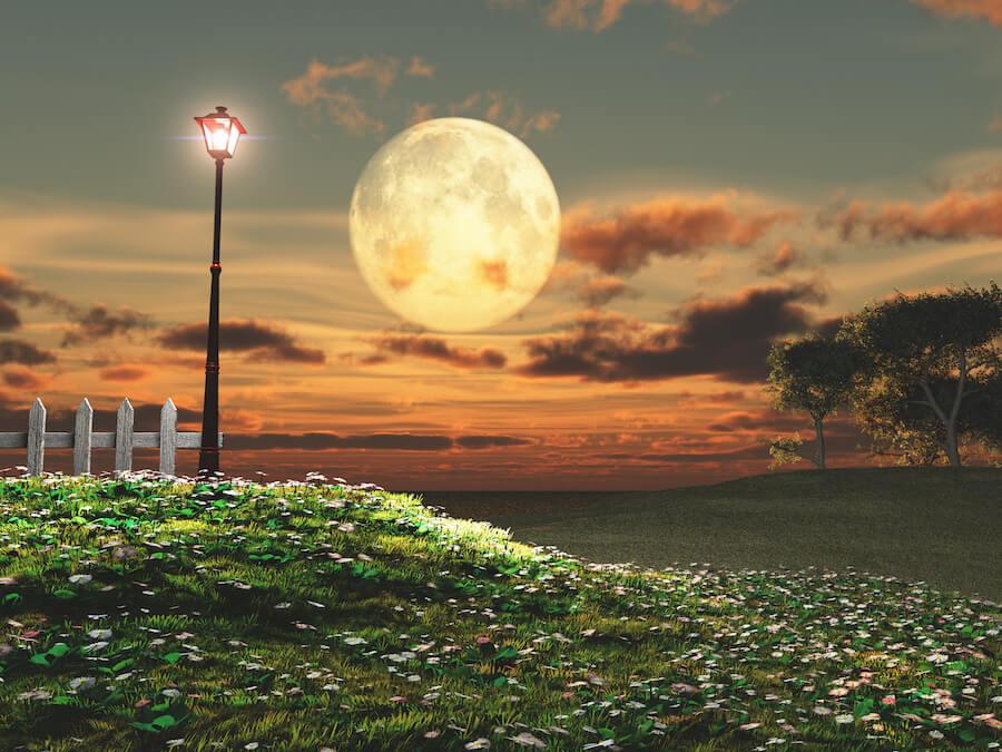 primera luna llena