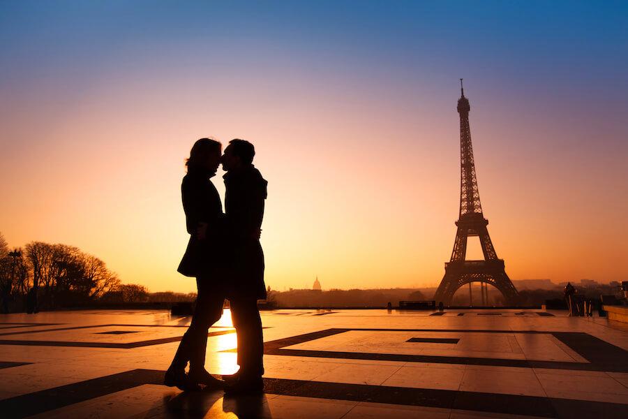 destinos romanticos paris