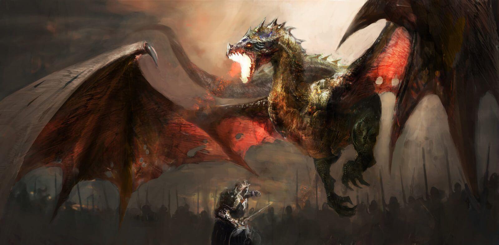 tirada de tarot dragon